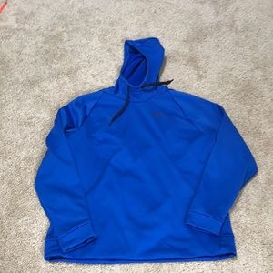 NWT! Nike Men's XL blue fleece lined hoodie